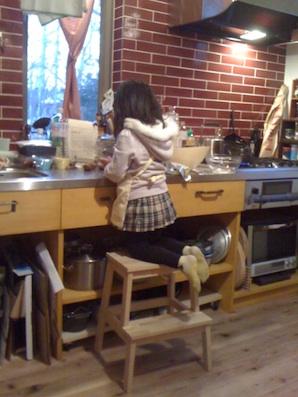 チョコ作り2012